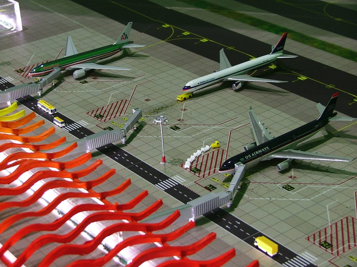 Aeriaa Airport Model Madrid Barajas