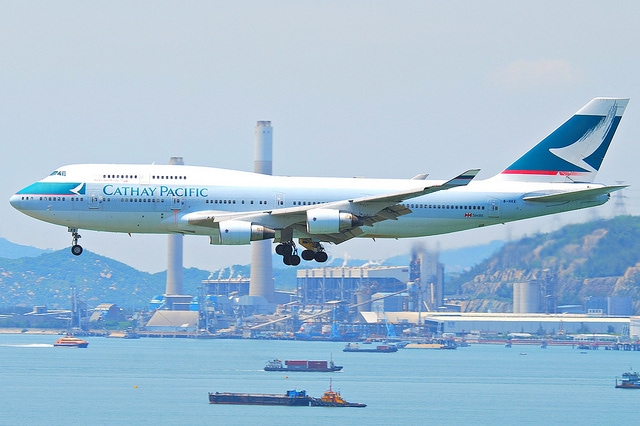 Cathay Pacific 747-400