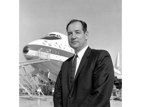 Joe Sutter. Engineer in charge of 747.