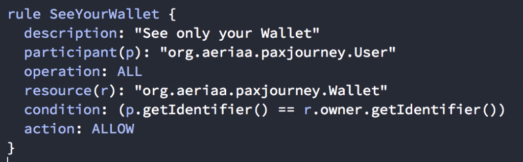 Only the Wallet's owner can see and manage the wallet.