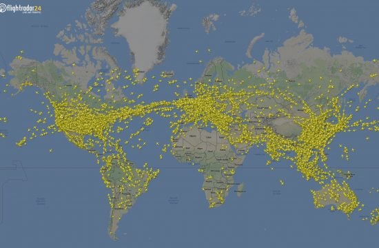 Courtesy of Flightradar24.com